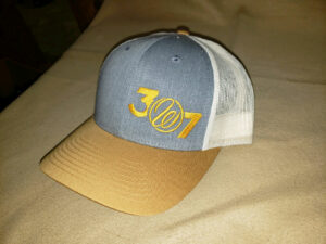 307 Amber/Gold Hat $25