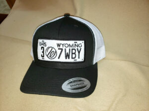 License Plate Trucker Hat $25