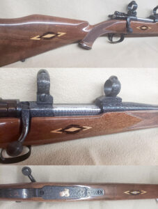 FN .270 Custom. Beautiful Southgate Custom. These rifles are very hard to find. Here is your chance to own a piece of history!! Complete with matching engraved Buehler rings and bases!! 100% POR
